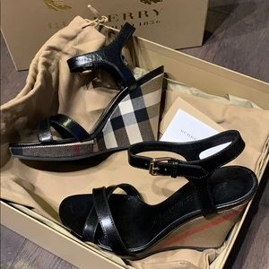 Burberry Wedge Sandal